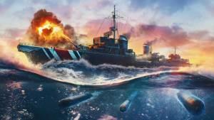 Contratorpedeiros alemães chegam ao World of Warships