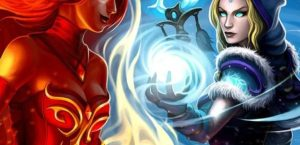 Lina & Crystal Maiden