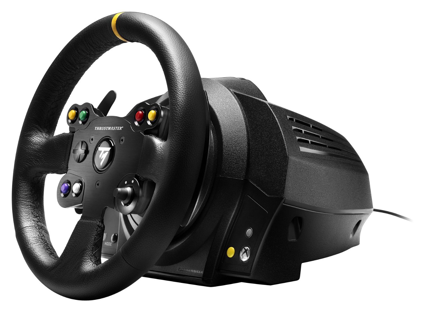 Details And Images For The Thrustmaster VG TX Racing Wheel Leather Edition Xbox One Racing Wheel