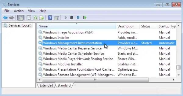 Windows Management Instrumentation Service