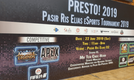 Presto! 2019: Pasir Ris Lights up with Esports