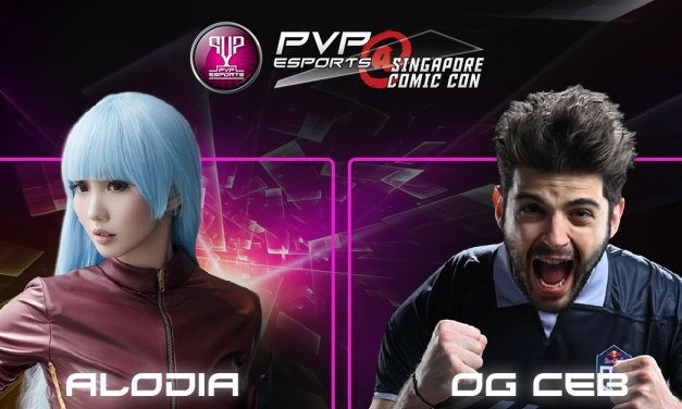 Catch OG.Ceb, Alodia, and more for PVP Esports @ Singapore Comic Con (7-8 Dec)