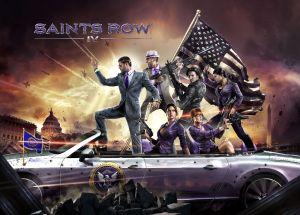 Saints Row IV paints the White House Purple.
