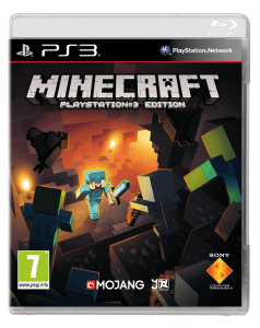 Disc base version of Minecraft PS3 to his stores in May
