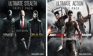 Square Enix Action and Stealth Packs coming to North America