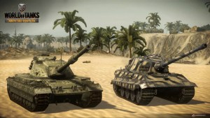 World of Tanks launches on Xbox One Today!