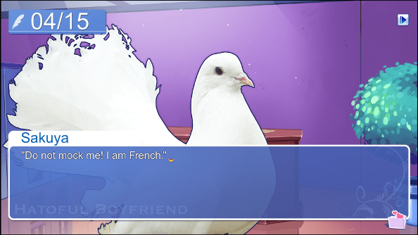 bird dating simulator