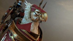 Total War: Warhammer introduces the powerful Demigryphs.
