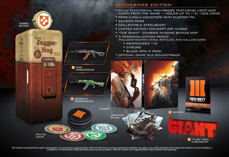Mirror S Edge Just Cause 3 And Black Ops 3 Collector Edition Announced Priced And Detailed Game It All