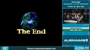 SGDQ Ends, over 1.2 million in donations raised