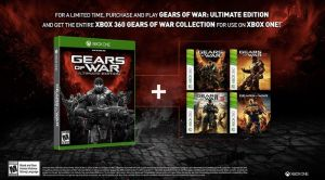 Gears of War Ultimate Edition gets all 4 games thanks to Backwards Compatibility