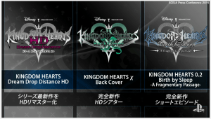 Kingdom Hearts 2.8 announced with new content leading to 3