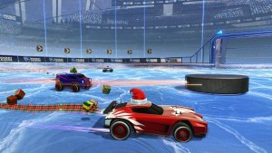 Rocket League goes Canadian with new Hockey mode