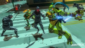 Screenshots of Platinum Games TMNT game leaked