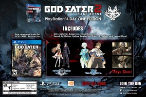God Eater: Resurrection and God Eater 2 release dates, DLC announced