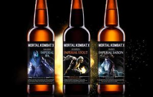 Official Mortal Kombat Beer coming to a liquor store near you