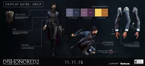 Dishonored 2 live action trailer is a cosplayer's dream, so Bethesda released guides!