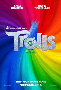 Film Review: Trolls is a breezy fun time