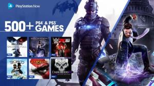 PS4 titles are now available on PSNow
