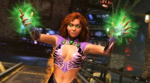 Starfire takes control in Injustice 2