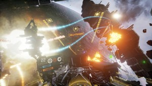 VR requirement for Eve: Valkyrie has been lifted.