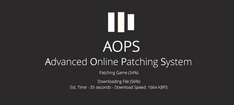 Advanced Online Patching System Logo