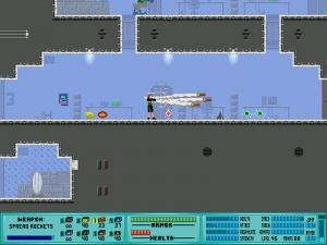 Encontrarás distintas armas en tu camino, incluyendo el clásico lanza-cohetes.