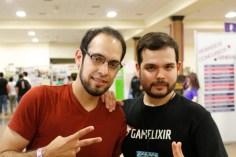 Luis y el legendario Martín Caballero