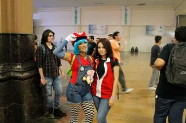 Mario girl &... Red girl?