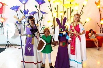 Todo el elenco de A link Between Worlds