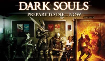 Publicidad Dark Souls