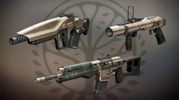 Armas Estandarte de Hierro Temporada 2