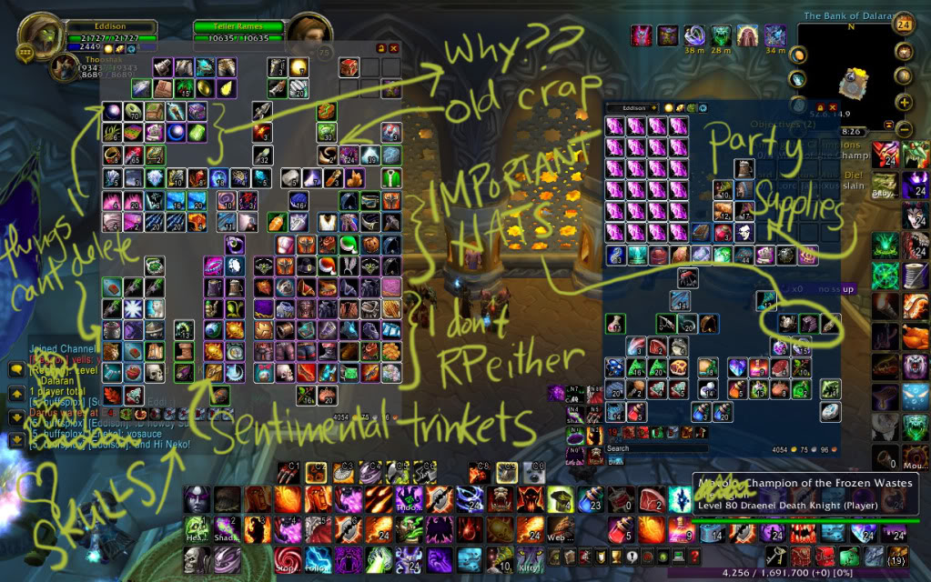 Wow chat interface addon