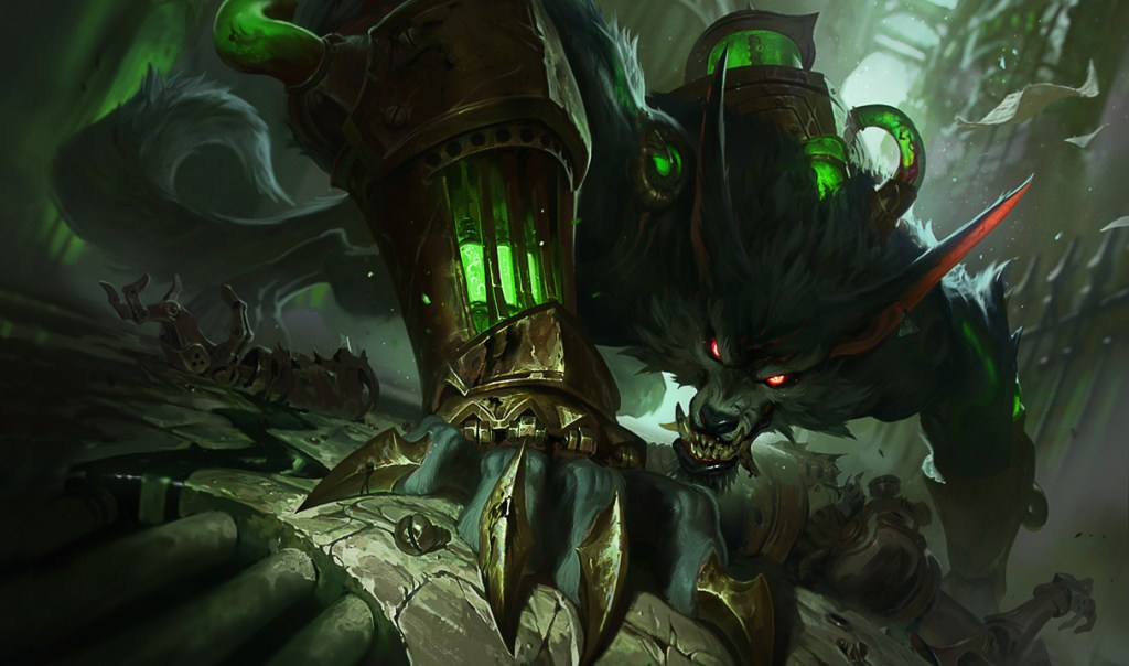 League of Legends warwick 2 1024x604 - League of Legends - PBE 10/01 - Rework Warwick, Novas Skins, Nerfs em Darius, Katarina, Yasuo