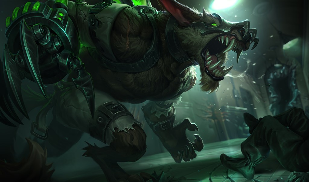 League of Legends warwick 9 1024x604 - League of Legends - PBE 10/01 - Rework Warwick, Novas Skins, Nerfs em Darius, Katarina, Yasuo
