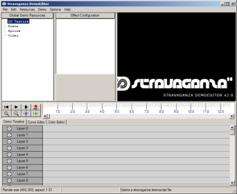 Stravaganza DemoEditor empty project