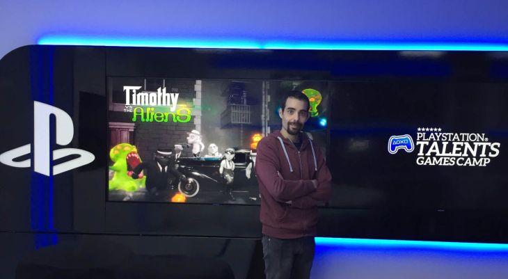 Timothy vs the Aliens Miguel DIaz CEO