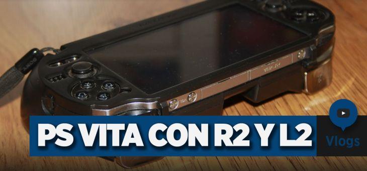 Carcasa PS Vita   PlayStation Vita con botones R2 y L2   Vlog