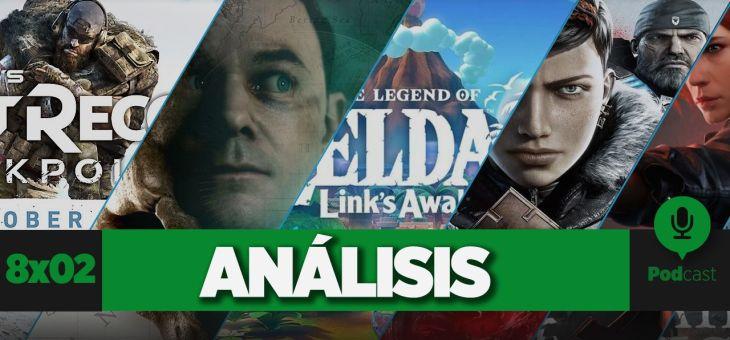 Beta Ghost Recon Breakpoint, Gears 5, Man of Medan, Control, Zelda Link's Awakening | GAMELX 8×02