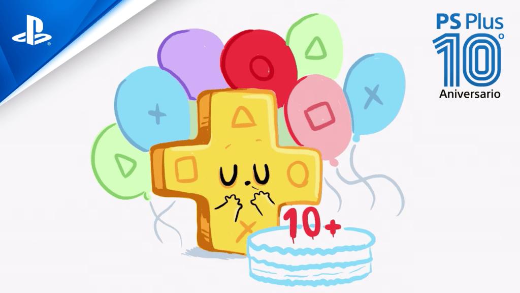 10 años PlayStation Plus