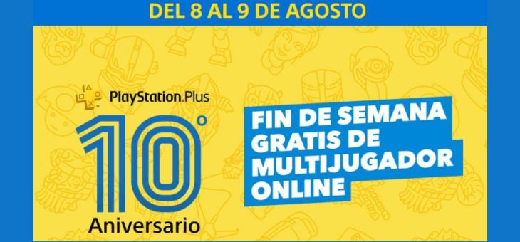 Por el 10º aniversario PlayStation Plus GRATIS este fin de semana