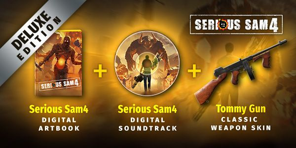 serious sam 4 deluxe