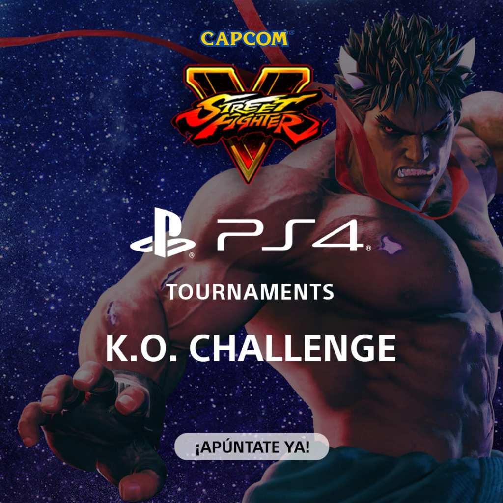 K.O. Challenge Street Fighter V