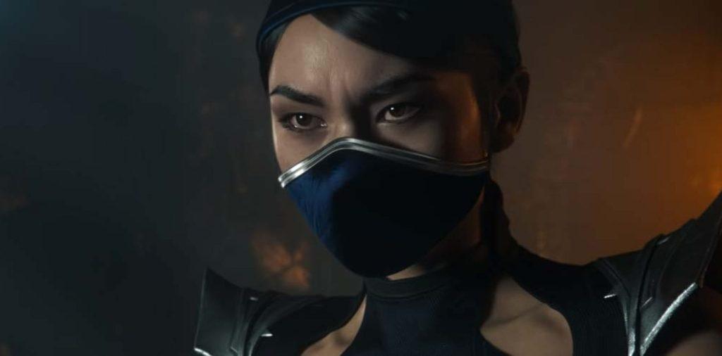 Personajes de videojuegos con mascarilla kitana mortal kombat
