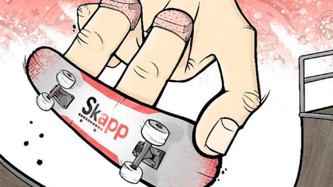 SKapp el juego de skateboard