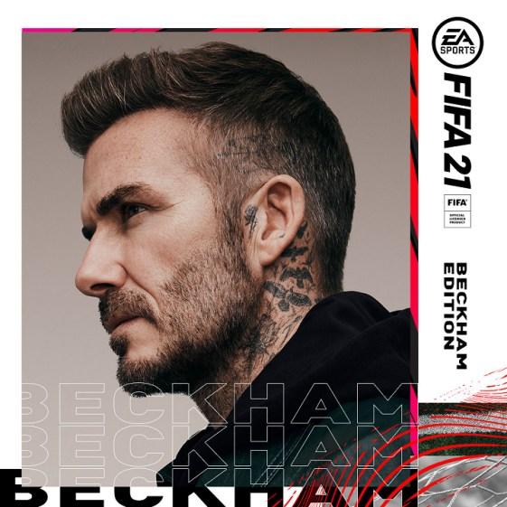 David Beckham es embajador de FIFA 21