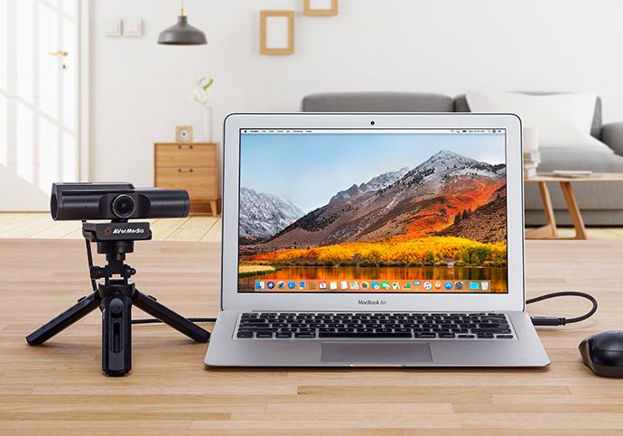 AVerMedia webcam con tecnología de IA