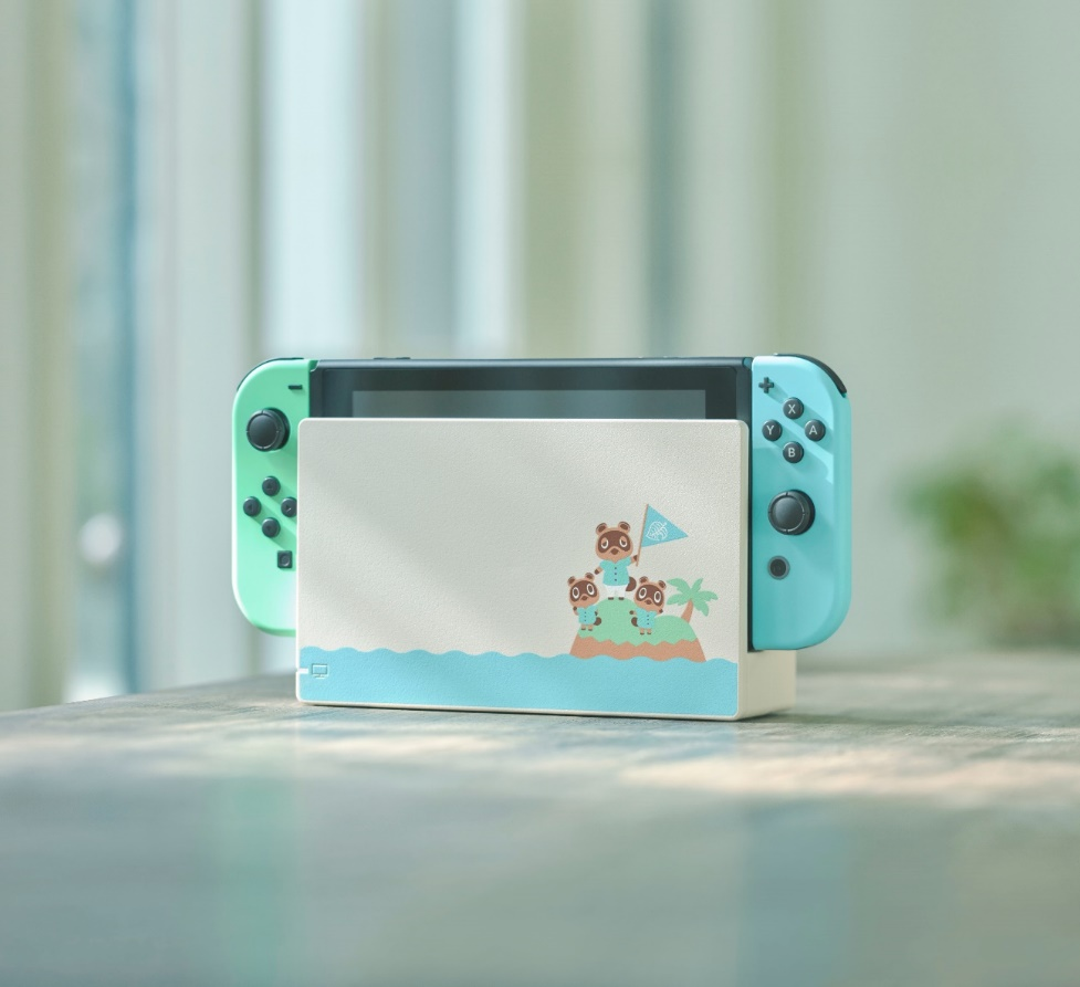 Nueva Nintendo Switch con temática de Animal Crossing