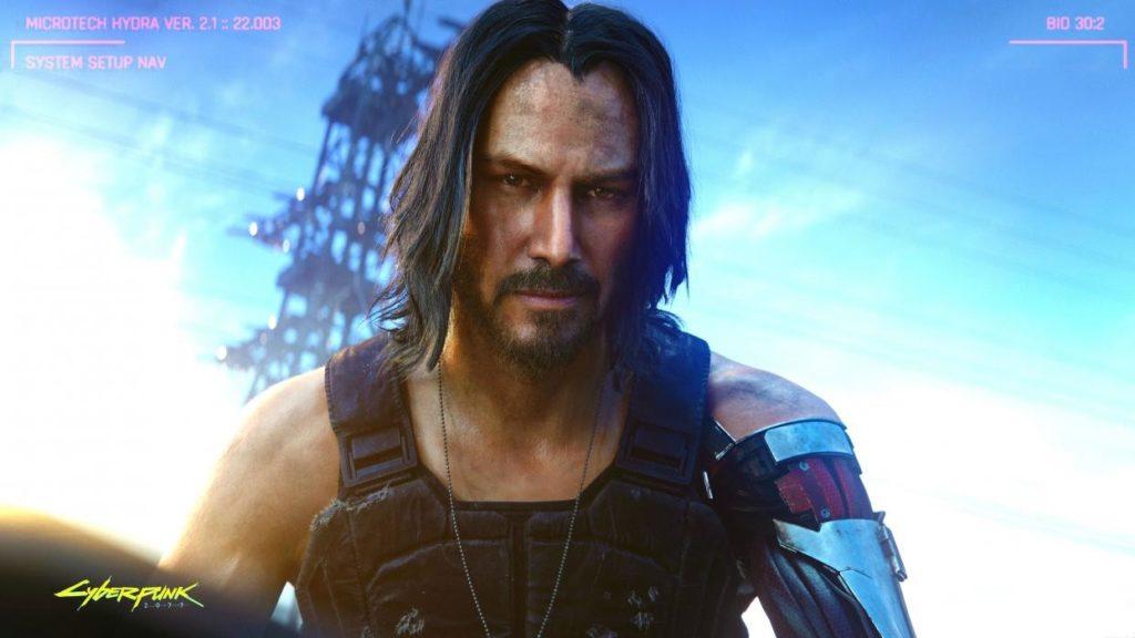 Keanu Reeves en Cyberpunk