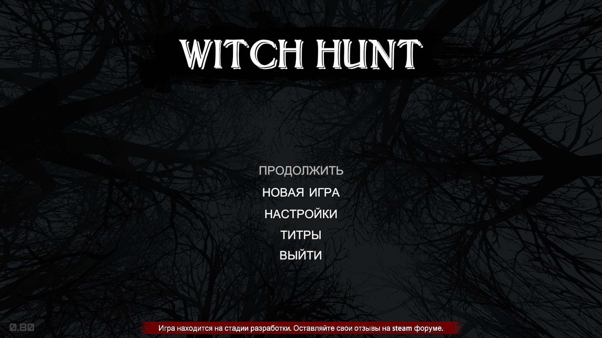 Witch Hunt…